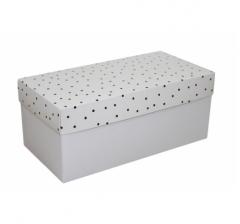 Коробка подарочная 360*180*150, дизайн 2020-9, белое дно