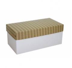 Коробка подарочная 360*180*150, дизайн 2020-6, белое дно