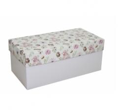 Коробка подарочная 360*180*150, дизайн 2020-3, белое дно