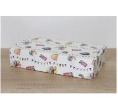 Коробка 28*15*6 см, дизайн 2020-52