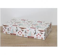 Коробка 28*15*6 см, дизайн 2020-63