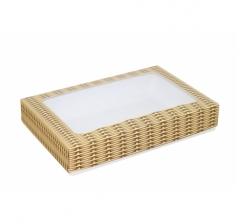 Коробка подарочная с окном 230*150*40, дизайн 2020-30