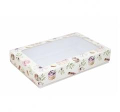 Коробка подарочная с окном 230*150*40, дизайн 2020-27
