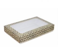 Коробка подарочная с окном 230*150*40, дизайн 2020-36