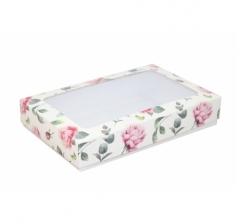 Коробка подарочная с окном 230*150*40, дизайн 2020-28