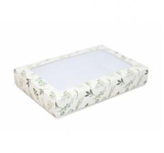 Коробка подарочная с окном 230*150*40, дизайн 2020-25