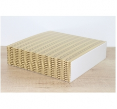 Коробка 225*225*55 мм, дизайн 2020-56 с белым дном