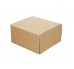 Коробка 10*10*5,5 см, крафт, микрогофрокартон