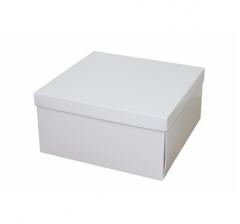 Коробка подарочная 200*200*100 мм, белая