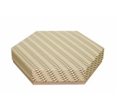 Коробка подарочная 200*200*40 мм, дизайн 2020-6, крафт дно