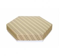 Коробка подарочная 200*200*40 мм, дизайн 2020-6, белое дно