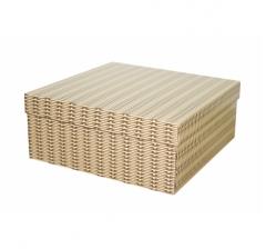 Коробка подарочная 240*240*100 мм, дизайн 2020-6