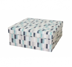 Коробка подарочная 245*245*100 мм, дизайн 2020-10