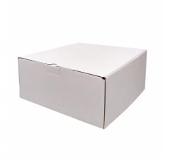 Коробка 300*300*130 мм, белая, ДП67