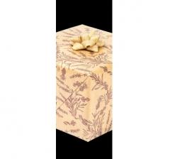 Бумага подарочная крафт 70 см*200 см, полевые цветы