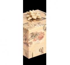 Бумага подарочная крафт 70 см*200 см, винтаж