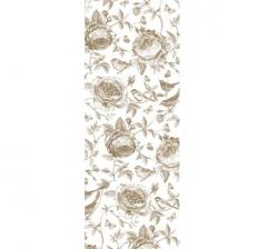 Бумага подарочная 70 см*100 см, золотые розы