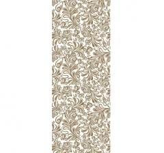 Бумага подарочная 70 см*100 см, узоры золотые