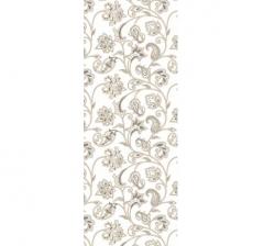 Бумага подарочная 70 см*100 см, цветы золотые