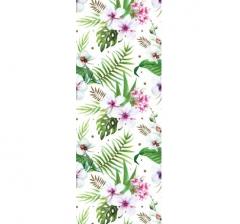 Бумага подарочная 70 см*100 см, орхидеи